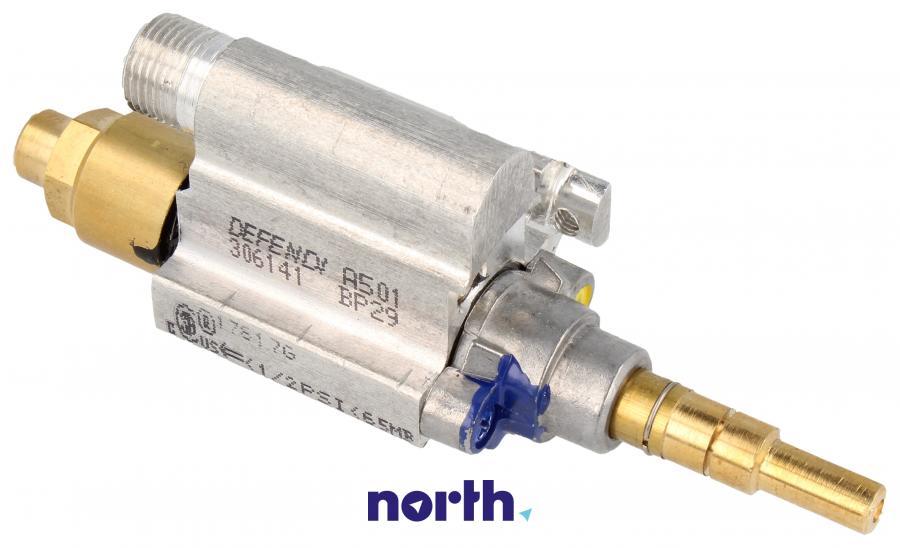 Zawór palnika średniego do płyty gazowej Amica 8042612,0