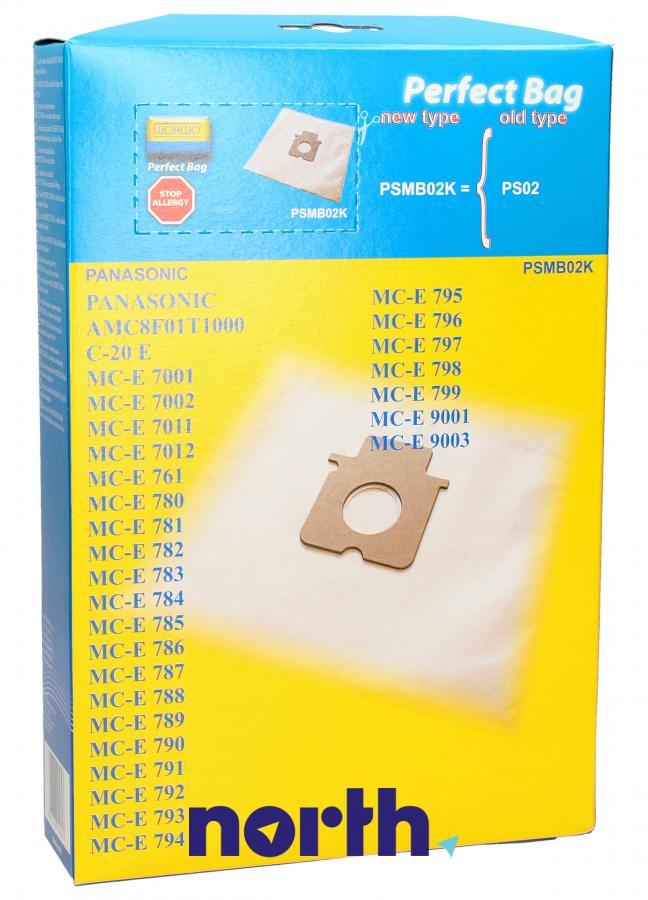 Worki PSMB02K 4szt. do odkurzacza Panasonic,1