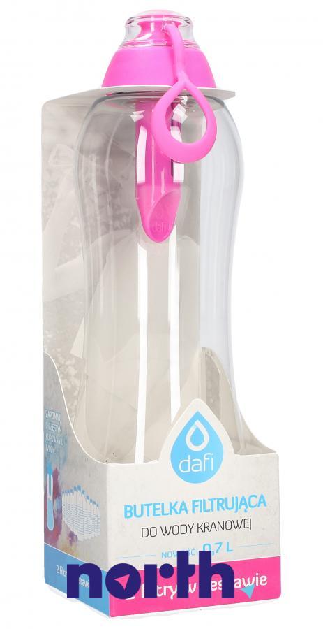 Butelka filtrująca Dafi 0.7l różowa,0