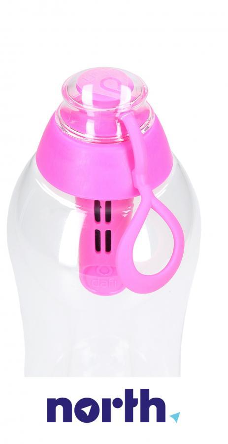 Butelka filtrująca Dafi 0.7l różowa,3
