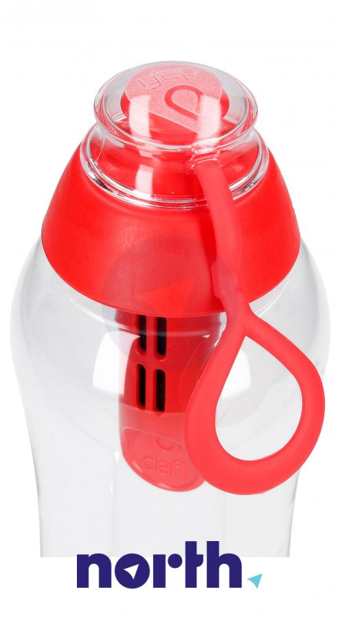 Butelka filtrująca Dafi 0.5l czerwona,3