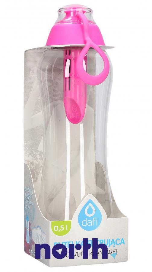Butelka filtrująca Dafi 0.5l różowa,0