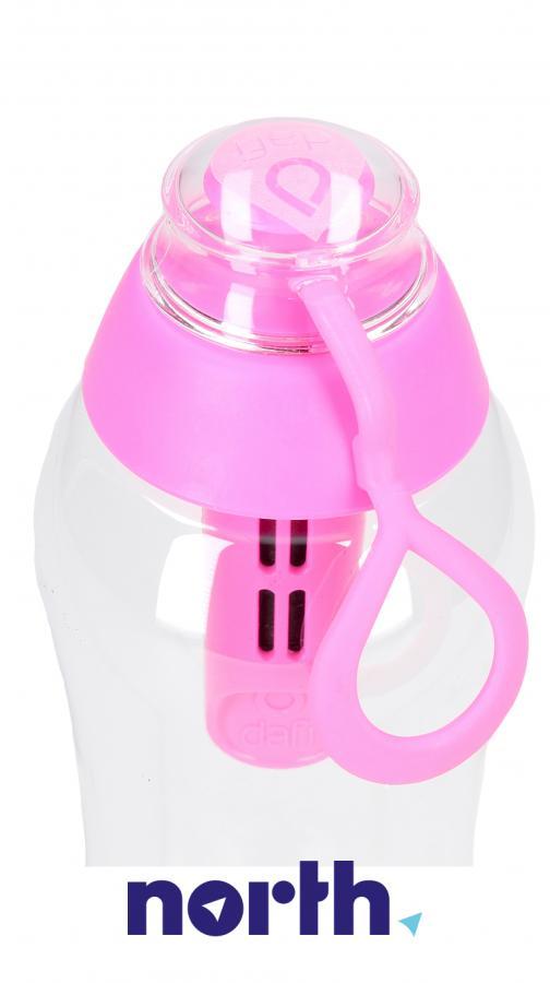 Butelka filtrująca Dafi 0.5l różowa,3