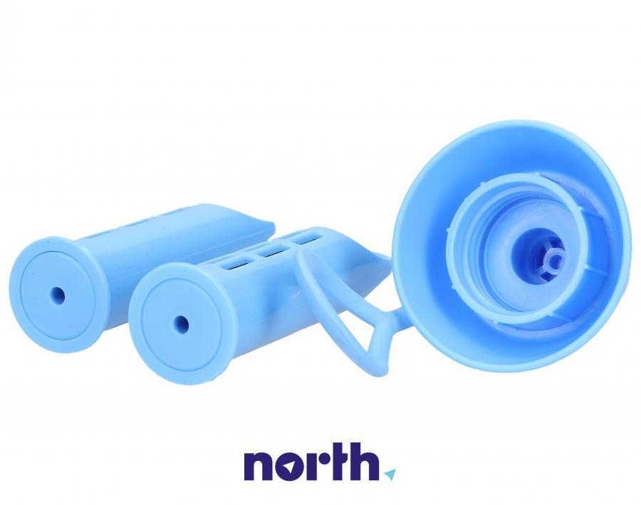 Filtry z nakrętką do butelki filtrującej Dafi niebieskie,3