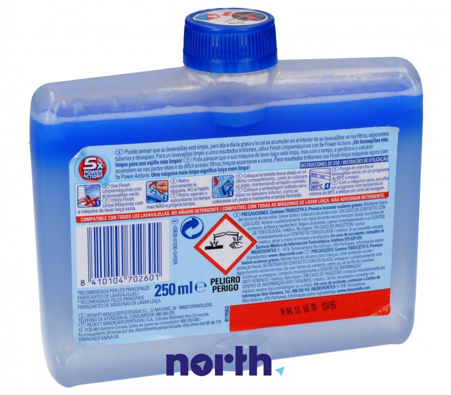 Płyn czyszczący Finish Calgonit 250ml do zmywarki,1