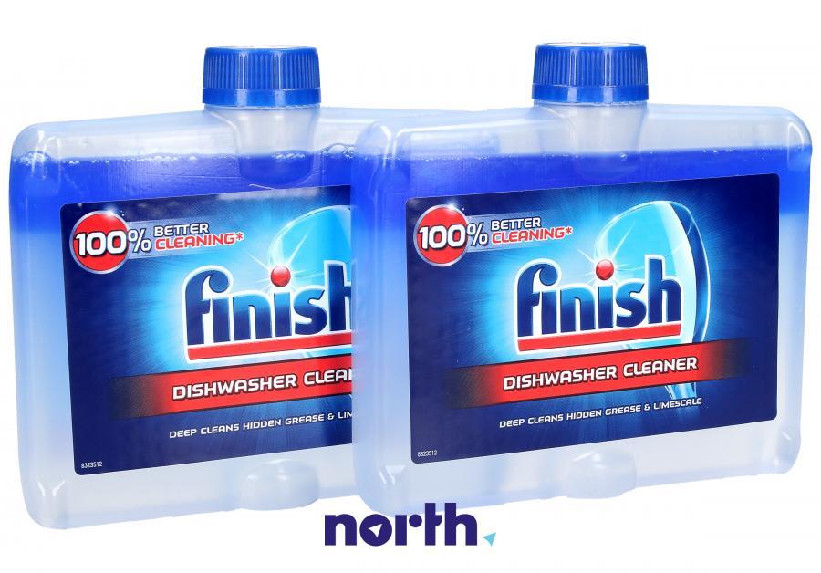 Płyn czyszczący 2szt. Finish Regular 250ml do zmywarki,0