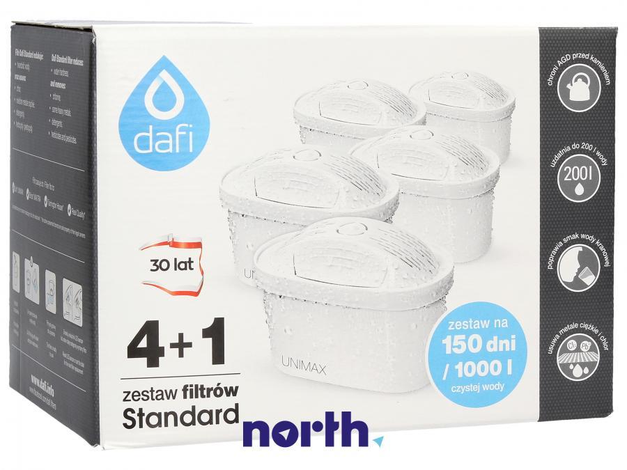 Wkłady do dzbanka filtrującego 5szt. DAFI Unimax,0
