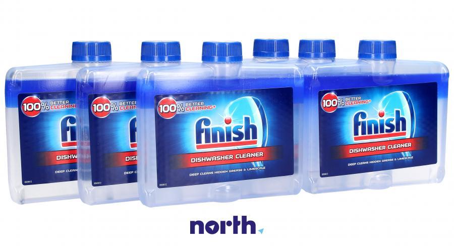 Płyn czyszczący 6szt. Finish Regular 250ml do zmywarki,0