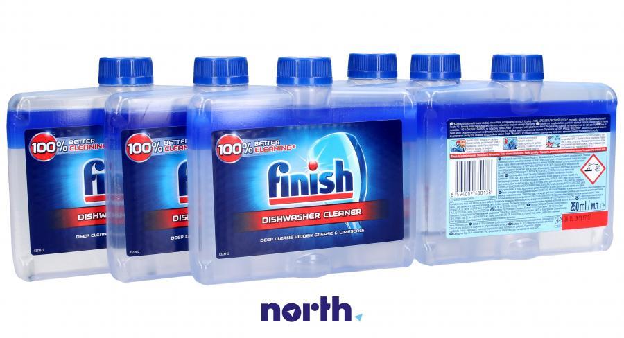 Płyn czyszczący 6szt. Finish Regular 250ml do zmywarki,1