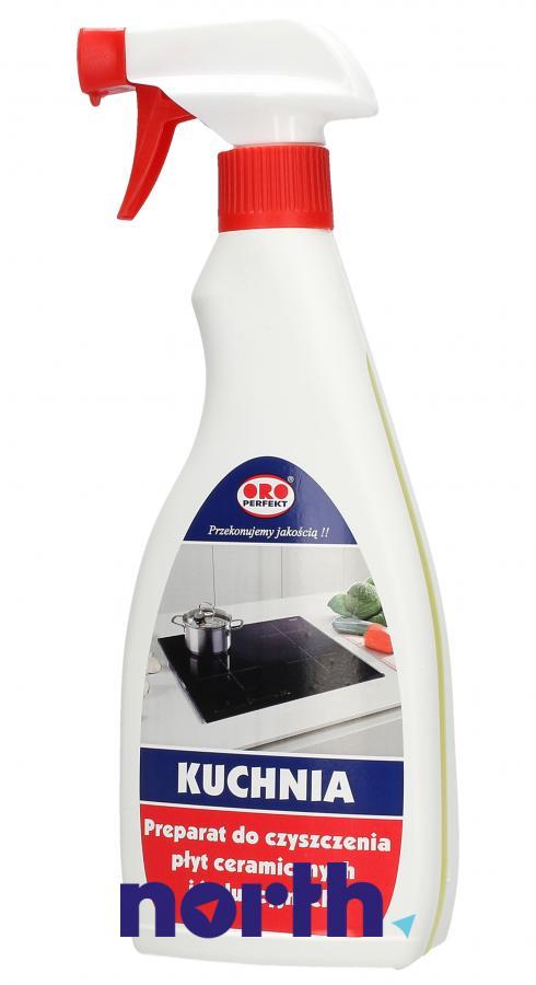 Środek czyszcząco-odtłuszczający (spray) do płyty indukcyjnej ORO 500ml,0