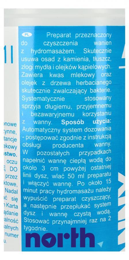 Środek do czyszczenia wanny z hydromasażem Tenzi 1l,2