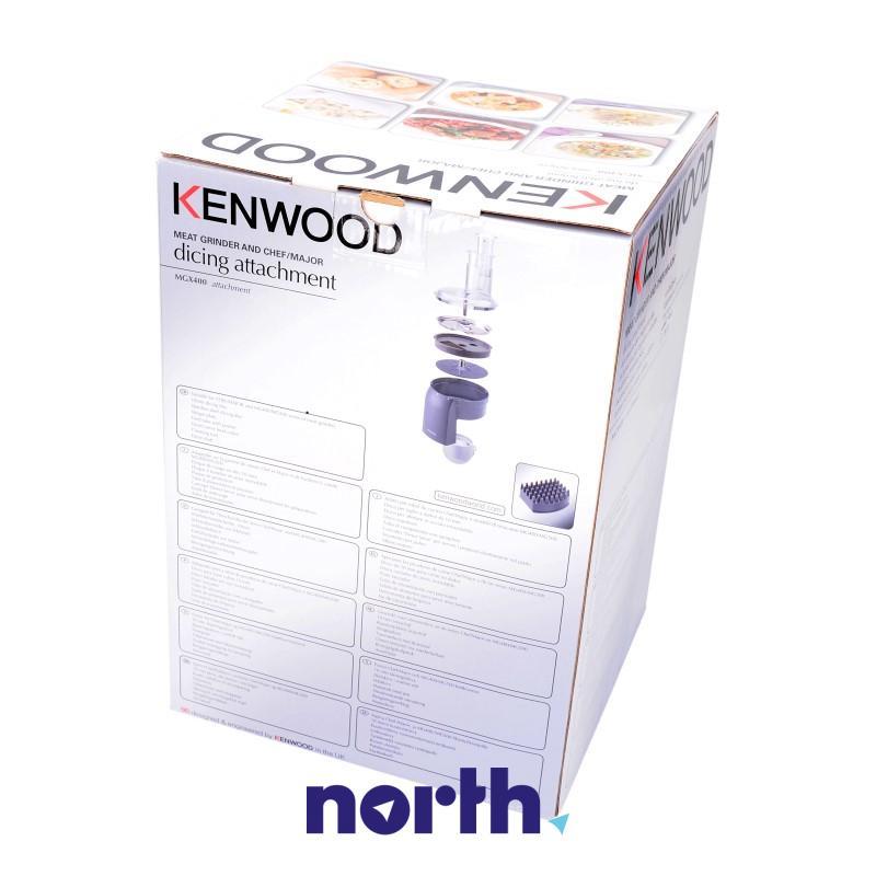 Przystawka do krojenia w kostkę z adapterem do robota kuchennego Kenwood,1