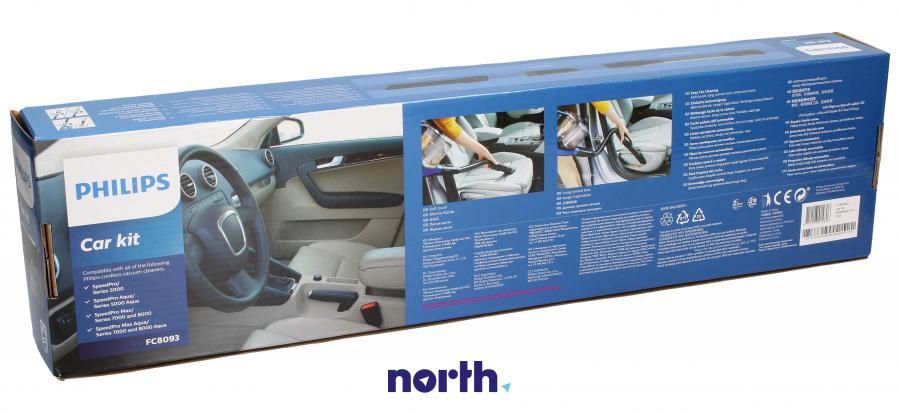 Zestaw do odkurzania samochodu do odkurzacza Philips FC809301,1