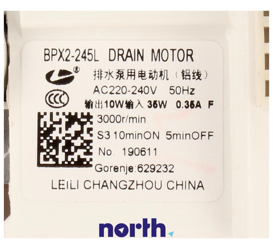 Silnik pompy odpływowej do pralki Gorenje 629232,5