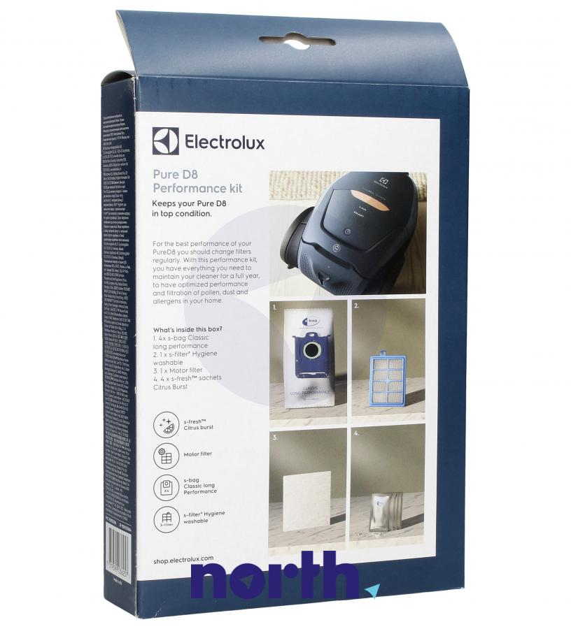 (10w1) Worki + filtry + wkłady zapachowe ESKD8 do odkurzacza Electrolux,1