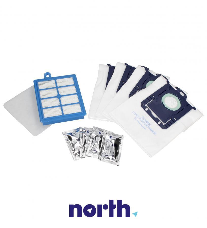 (10w1) Worki + filtry + wkłady zapachowe ESKD8 do odkurzacza Electrolux,2