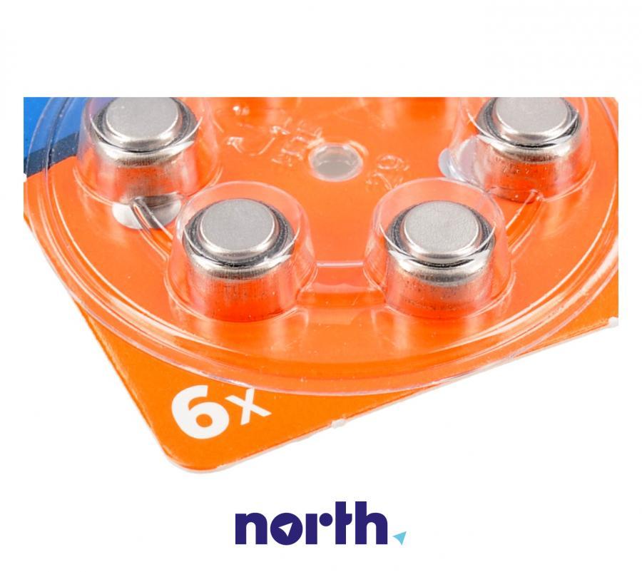 V13 Baterie cynkowa 1.4V 310mAh (6szt.) do aparatów słuchowych,2
