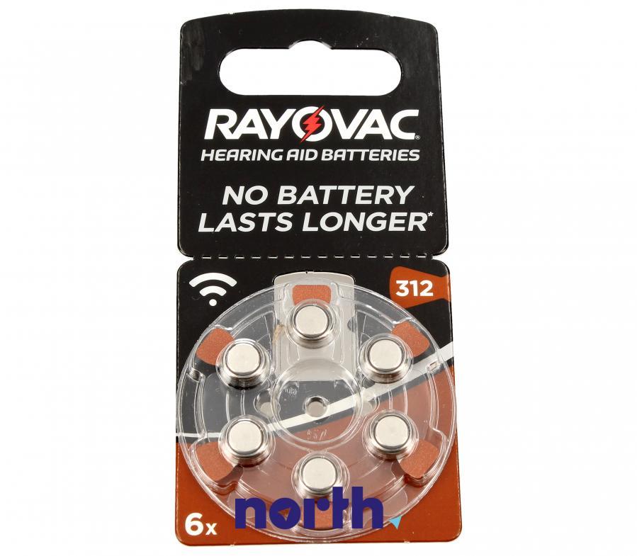 V312 Baterie cynkowa 1.4V 180mAh do aparatów słuchowych,0