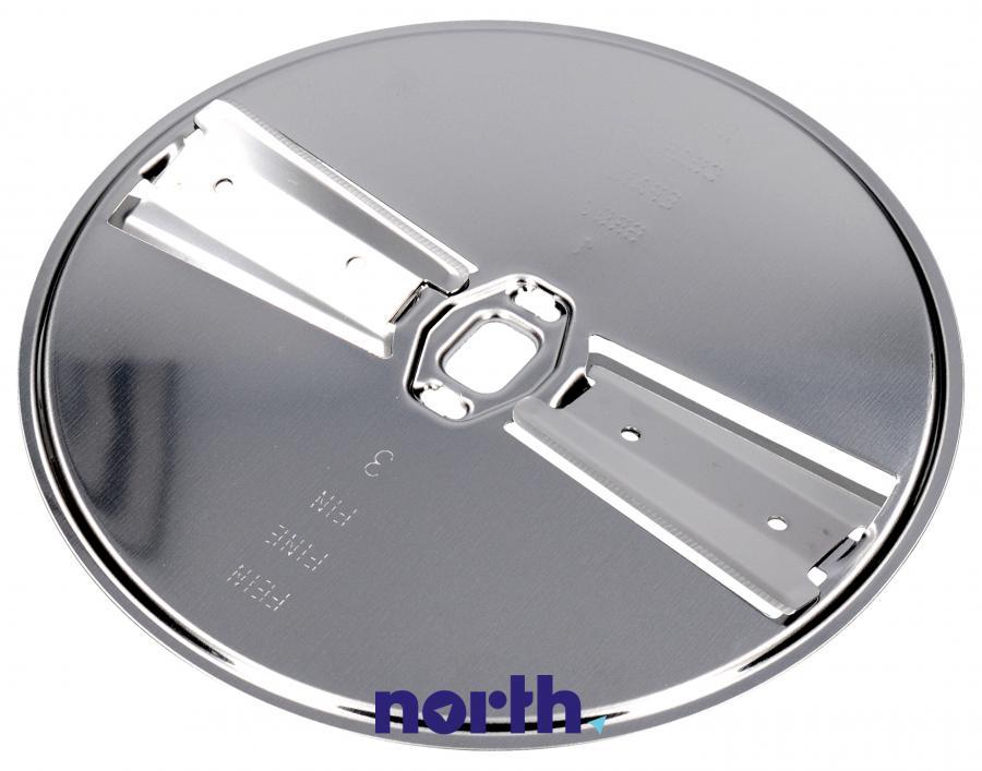 Tarcza dwustronna tnąca na cienkie i grube plastry do robota kuchennego Bosch MUZ8DS1 00083576,0