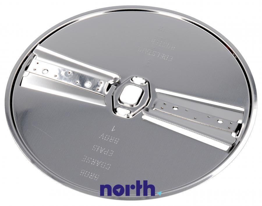 Tarcza dwustronna tnąca na cienkie i grube plastry do robota kuchennego Bosch MUZ8DS1 00083576,1