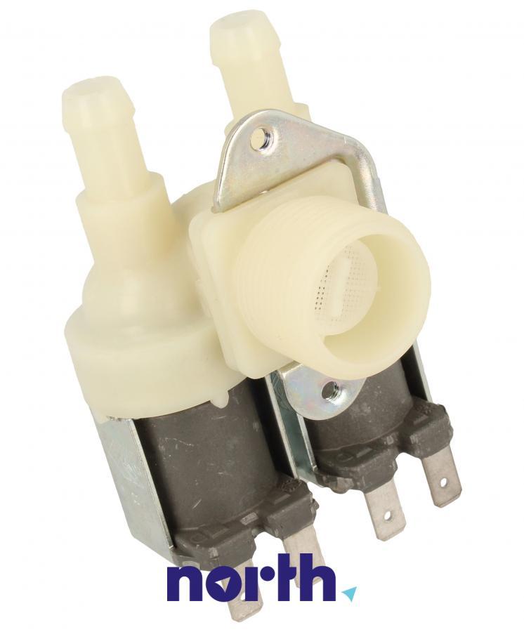 Elektrozawór podwójny (dwudrożny) do pralki Indesit 482000026643,0