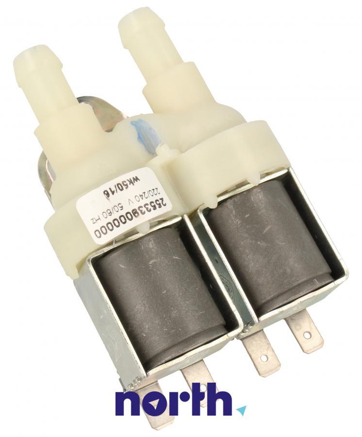 Elektrozawór podwójny (dwudrożny) do pralki Indesit 482000026643,2