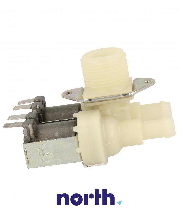 Elektrozawór podwójny (dwudrożny) do pralki Indesit 482000026643,3