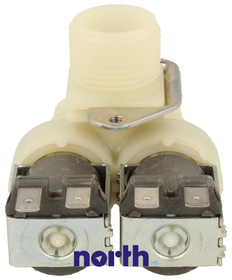 Elektrozawór podwójny (dwudrożny) do pralki Indesit 482000026643,4