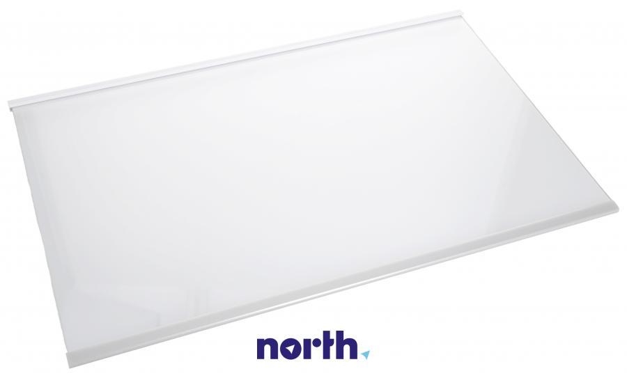 Półka szklana z ramkami do komory chłodziarki do lodówki Whirlpool 480132101134,0