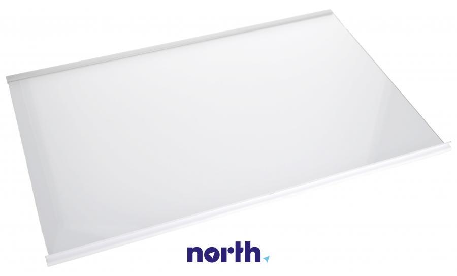 Półka szklana z ramkami do komory chłodziarki do lodówki Whirlpool 480132101134,1
