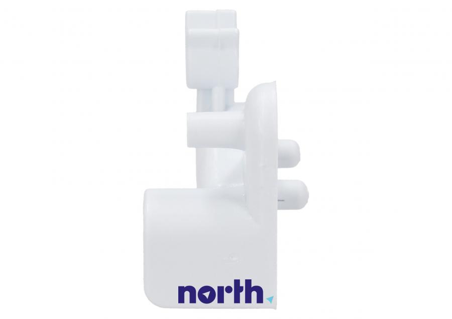 Prawe mocowanie frontu kosza zamrażarki do lodówki Indesit 482000026473,2