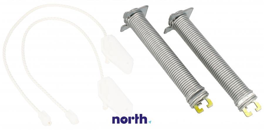 Sprężyny z linkami zawiasu do zmywarki Bosch 00754865,1