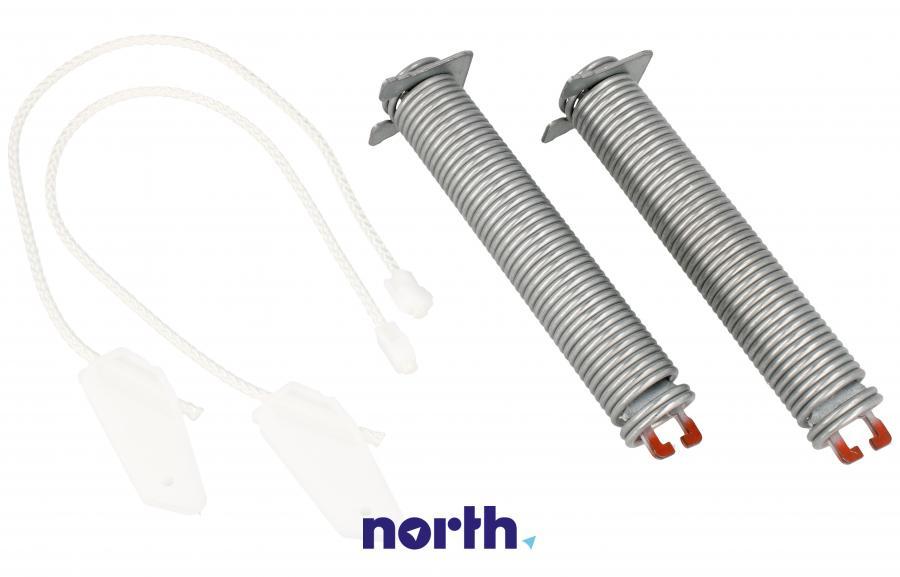 Sprężyny z linkami zawiasu do zmywarki Bosch 00754866,1