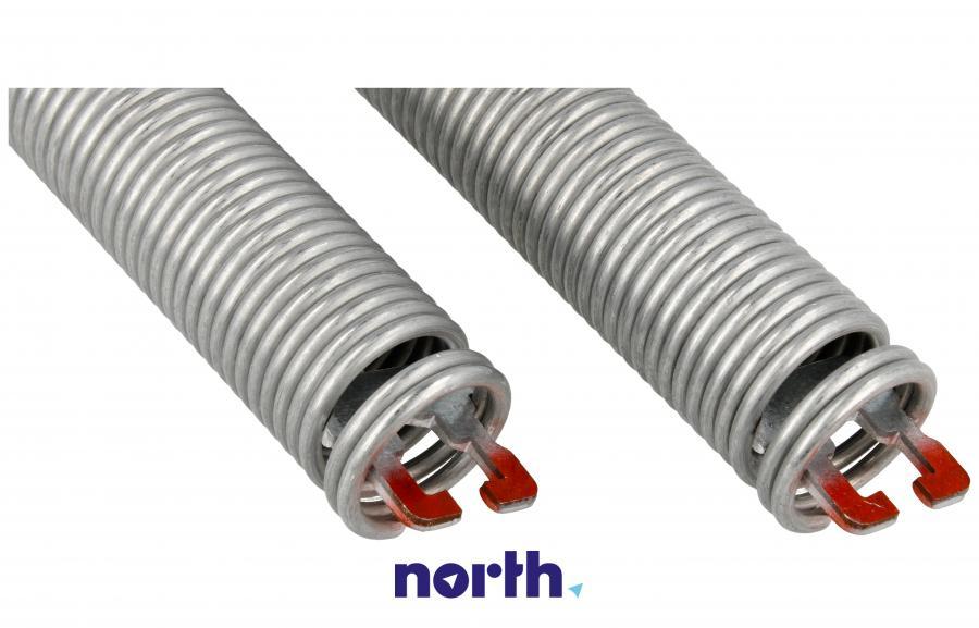 Sprężyny z linkami zawiasu do zmywarki Bosch 00754866,4