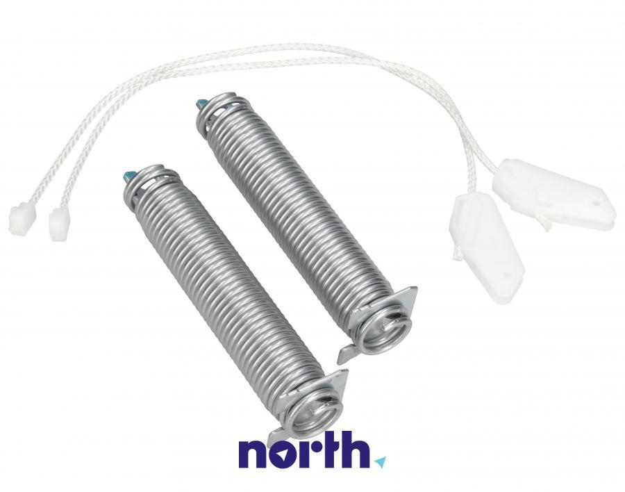 Sprężyny z linkami zawiasu do zmywarki Bosch 00754874,1