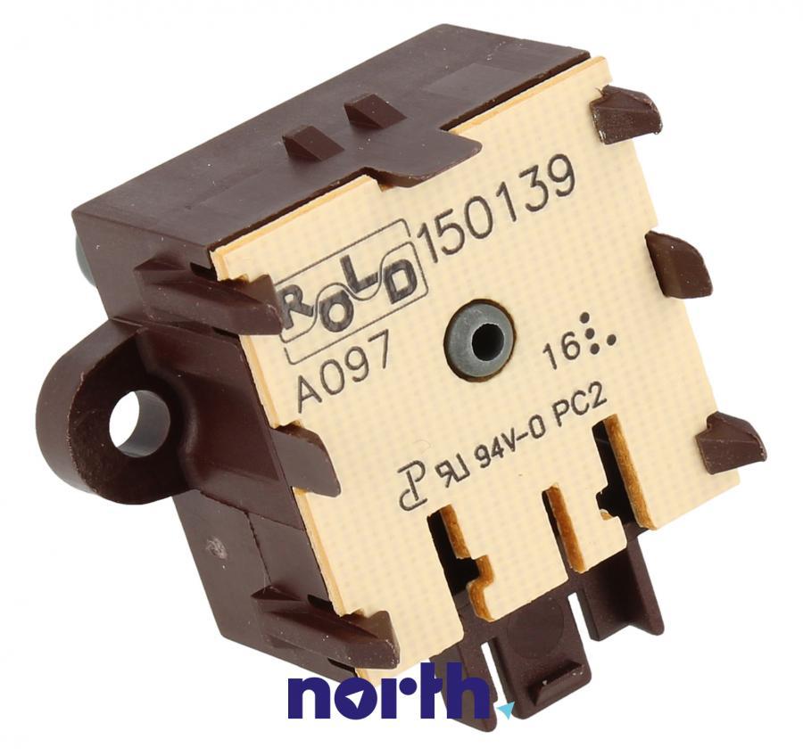 Przełącznik impulsowy funkcji do piekarnika Whirlpool 480121102833,0