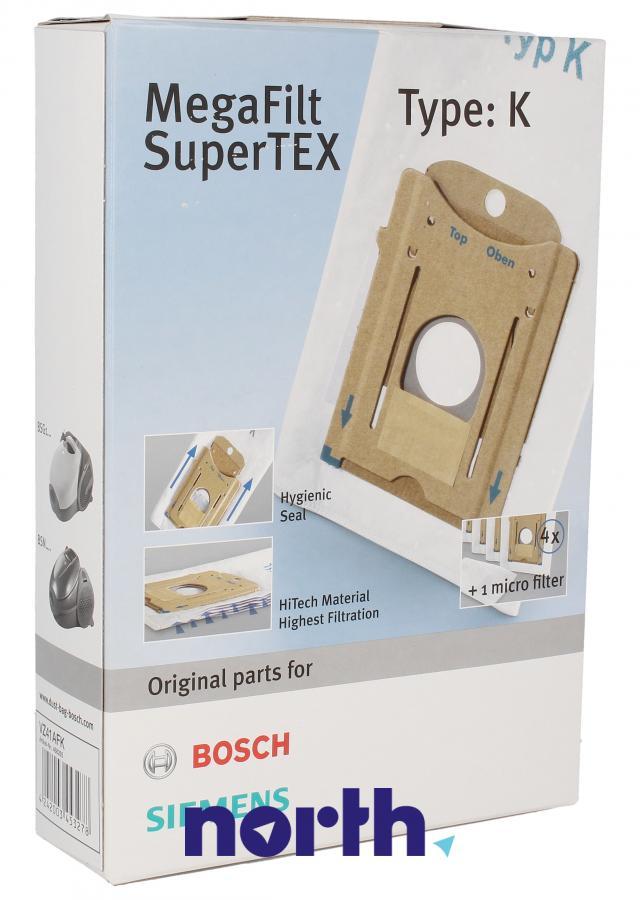 Worki typ K (BBZ71AFK) 4szt. do odkurzacza Bosch,0
