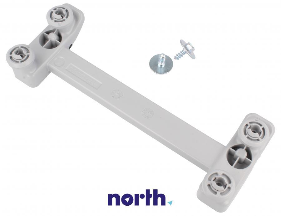 Mocowanie szuflady na sztućce z rolkami do zmywarki Whirlpool 480140100952,1