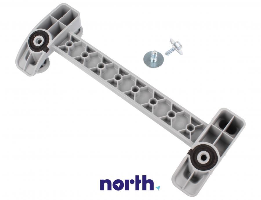 Mocowanie szuflady na sztućce z rolkami do zmywarki Whirlpool 480140100952,2