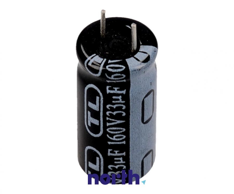 33uF | 160V Kondensator elektrolityczny 85°C 30000388,0