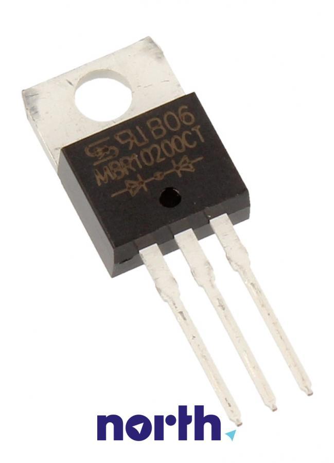 200V2X5A Dioda Schottkiego MBR10200CT 200V | 10A (TO-220-3),0