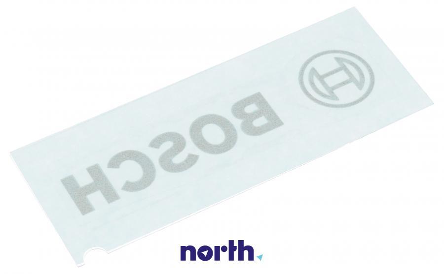 Emblemat z nazwą / Logo do lodówki Bosch 00614976,1