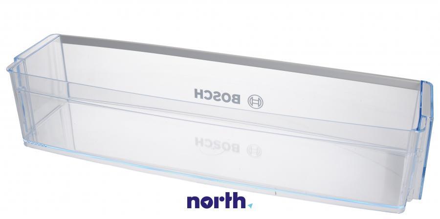 Dolna półka na drzwi chłodziarki do lodówki Bosch 00674382,1