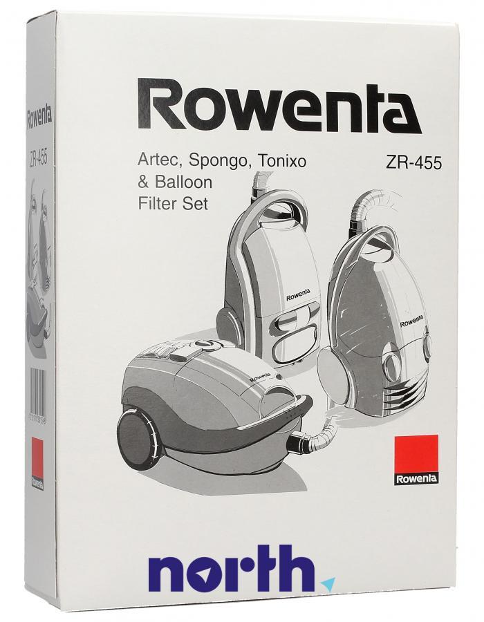 Worki ZR455 10szt. do odkurzacza Rowenta,0