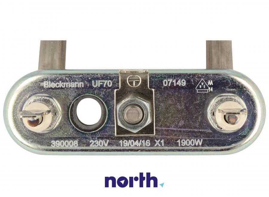 Grzałka z miejscem na czujnik do pralki Bosch 00264986,4