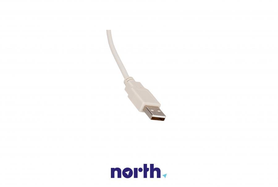 Kabel USB do drukarki 1,8m szary,2