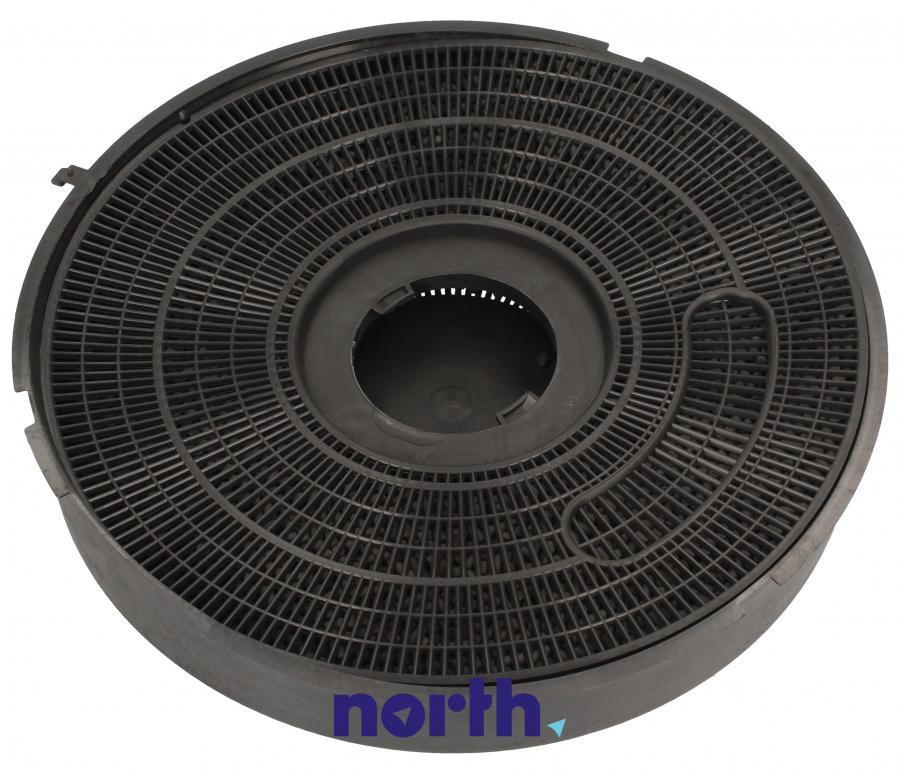 Filtr węglowy w obudowie okrągły do okapu Arthur-Martin TYP 40,0