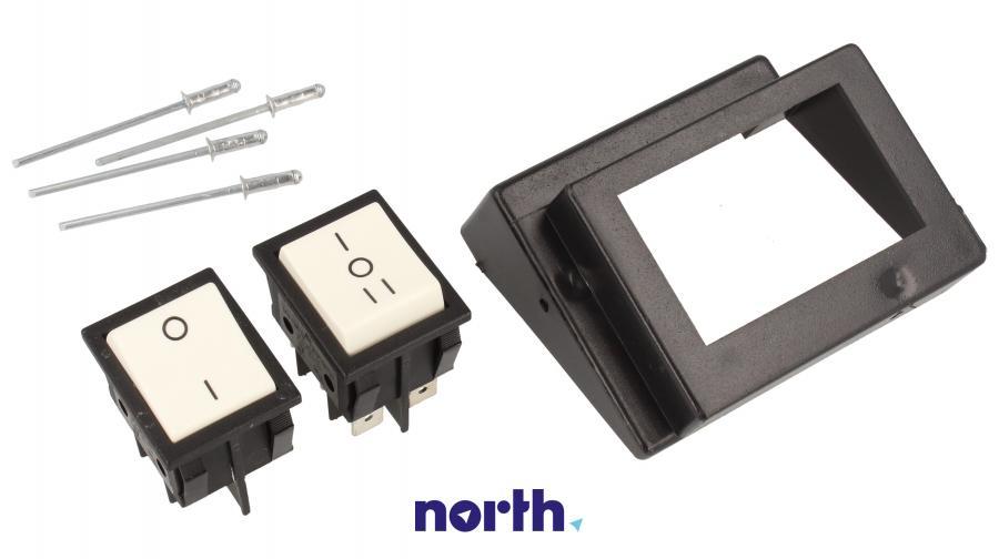Przyciski panelu sterowania do okapu Whirlpool 481927618079,0