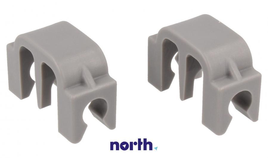 Zaczep grzebienia do dolnego kosza do zmywarki Bosch 00167291,0