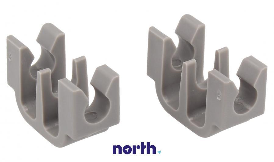 Zaczep grzebienia do dolnego kosza do zmywarki Bosch 00167291,1